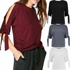 Unbranded Short Sleeve Regular Size Basic T-Shirts for Women
