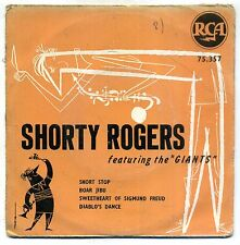 SHORTY ROGERS : EP RCA 75357