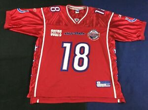 Pro Bowl Indianapolis Colts Peyton Manning #18 Football-NFL Reebok Jersey Size52