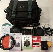 Canon EOS Rebel T5i 18.0 MP Digital SLR Camera - Two Lenses Mint Condition