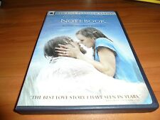 The Notebook (DVD Widescreen/Fullscreen 2005) Ryan Gosling Used Nicholas Sparks