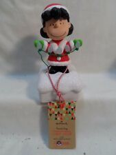 2015 Hallmark Peanuts Christmas Light Show Lucy