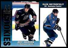 1999-00 Pacific Omega Jeff Halpern , Glen Metropolit #246