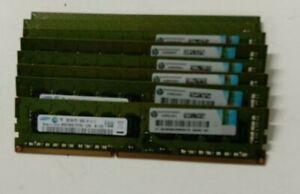 16GB 8 x 2GB 2RX8 PC3-10600E DDR3-1333 UNBUFFERED ECC MEMORY EDIMM HP 500209-061