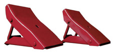Torin Big Red Steel Safety Wheel Chock: Foldable Tire Stop, 1 Pair