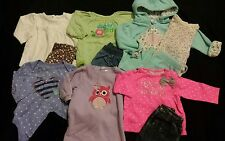 Baby Girl Size 3-6 Months Mixed Fall & Winter Clothing Lot