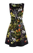 BEAUTIFUL KAREN MILLEN FLORAL DRESS UK 16 *new with tags* CURRENT SEASON