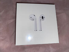 Apple AirPods 2nd Generation Wireless Earbuds with Charging Case NEW SEALED