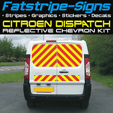 CITROEN DISPATCH REFLECTIVE CHEVRONS KIT SWB MWB LWB VAN GRAPHICS STICKERS