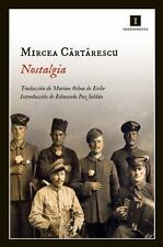 Nostalgia (spanish Edition): By Mircea Cartarescu