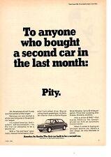 1968 AUSTIN AMERICA   ~  ORIGINAL PRINT AD