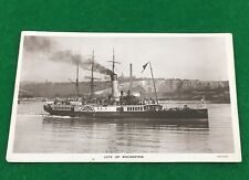 City Of Rochester Paddle Steamer Ship Postcard 1911 RP Posted