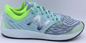 New Balance Fresh Foam Zante v3  Road-Running Shoes Blue Green US 5.5 (KJZNTBGG)
