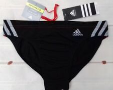 "Adidas Swim Brief Trunks X12657 Black/Gray/Red Size 32"" (4,5cm lateral)"