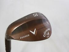 NEW LH CALLAWAY FORGED CC COPPER 52.10* AW GAP WEDGE S300 STIFF FLEX STEEL