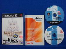 ps2 dot HACK PART 1 Infection + Bonus Anime DVD Playstation PAL UK ENGLISH
