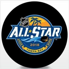 2018 NHL ALL STAR GAME PUCK ASG TAMPA BAY OFFICAL LICENSED COLLECTIBLE