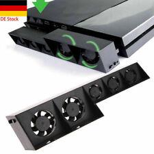 Für PS4 USB Lüfter Kühler Externe Turbo Temperaturregelung Kühlkörpe Kühlung DE