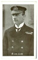 Antique WW1 military postcard Sir John Jellicoe Royal Navy portrait