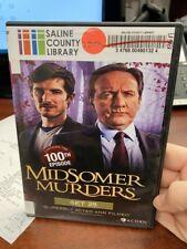 midsomer murders series 17, series 18, and set 25
