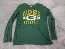Nfl Apparel Greenbay Packers Womens Long Sleeve 2XL