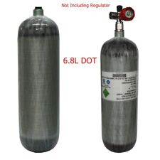 Dot Outdoor 6.8L Compressed Carbon Fiber Air Tank 4500psi For Space Industry