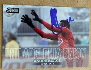 Andre Blake Signed 2018 Topps Stadium Club Card 67 Philadelphia Union MLS Auto