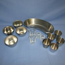 Lot of Surgical Cups and Trays Lot of 14