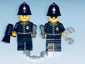 LEGO BRITISH / ENGLISH POLICE MEN / BOBBY'S - GENUINE LEGO - NEW