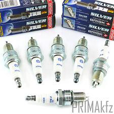 6x BRISK Silver DR15YS 1334 Zündkerzen Benzin LPG CNG Renault Skoda VW Volvo