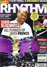 JOHN BLACKWELL / BILLY COBHAM / THRILLSRhythmAug2004