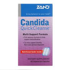 Zand  Candida Quick Cleanse  60 Vegetarian Capsules