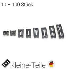IC Sockel DIL 6 8 14 16 18 20 24 28 polig RM 2,54 Fassung Halter DIP socket