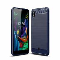 Lg K20 2019 Case Phone Cover Protective Case Bumper Bowl Blau