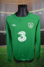 IRELAND EIRE UMBRO TRAINING FOOTBALL SOCCER JERSEY XXL JACKET TRACKSUIT BLOUSE