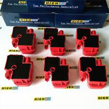 6 ignition coils for Mercedes Benz E320 ML320 ML350 3.7L V6 SLK32 SLK320 S350 V6