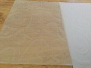 Embossing Folder New Lovely Swirly Pattern Cuttlebug