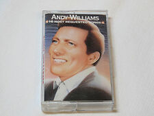 Andy Williams 16 Most Requested Songs CT40213 Columbia Legacy 1986 Cassette Tape