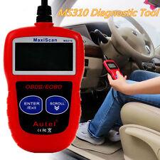Portable MS310 Car Vehicles OBD2 OBDII EOBD Engine Fault Diagnostic  Scanner Kit