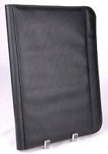 Plannerbinder Seville Black Faux Leather 135x10 Zipper Pockets Cgfoa 2014