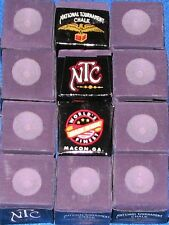 Cue Chalk ~ NTC ~ color: PURPLE ~ 12 pieces