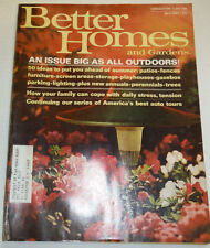 Better Homes And Gardens Magazine 50 Ideas For Summer April 1967 122014R