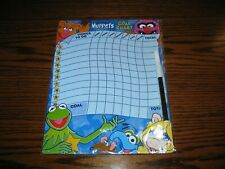 Jim Henson - Muppets Things To Do Checklist! With Marker! Brand New!