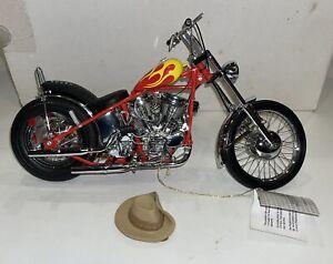 Franklin Mint 1:10 Easy Rider Harley Davidson Billy Bike Chopper MINT RE-LISTED