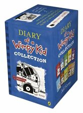 Diary of a Wimpy Kid Collection 10 Books Box Set Blue Hard Luck, Third wheel
