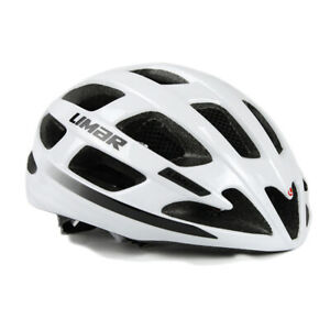 Limar Ultralight LUX Road Cycling Helmet with LED Light - White