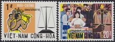 VIETNAM du SUD N°353/354** Démocratie,1969 South Viet Nam #349-350 Democracy MNH