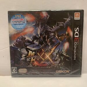 NEW Nintendo 3DS Monster Hunter XX Double Cross w/ BONUS DLC set CAPCOM JAPAN FS