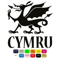 Cymru Dragon Iron On T-Shirt Clothes Heat Transfer Vinyl HTV Sticker 12 Colours