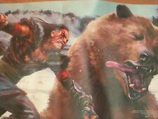 """Ultra Pro Khans of Tarkir Playmat Savage Punch 24"""" x 13.5"""" Play Mat Bear Puncher"""